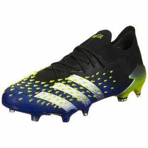 Predator Freak .1 L FG Fußballschuh Herren, schwarz / blau, zoom bei OUTFITTER Online