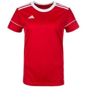 Squadra 17 Fußballtrikot Damen, rot / weiß, zoom bei OUTFITTER Online