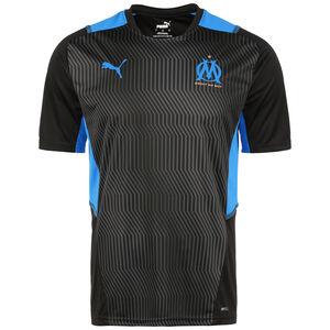 Olympique Marseille Trainingsshirt Herren, schwarz / blau, zoom bei OUTFITTER Online