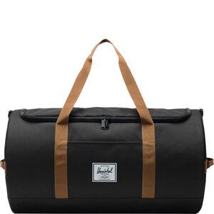 Sutton Duffel Tasche, schwarz / braun, zoom bei OUTFITTER Online