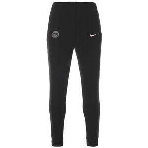 Paris St.-Germain Fleece Trainingshose Herren, schwarz / rosa, zoom bei OUTFITTER Online
