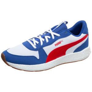 NRGY Neko Retro Sneaker Herren, blau / rot, zoom bei OUTFITTER Online