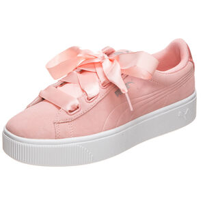 Vikky Stacked Ribbon Sneaker Damen, apricot / weiß, zoom bei OUTFITTER Online
