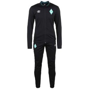SV Werder Bremen Knit Trainingsanzug Herren, schwarz / dunkelgrün, zoom bei OUTFITTER Online