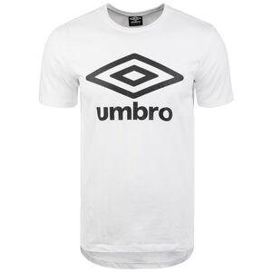 Large Logo T-Shirt Herren, weiß / schwarz, zoom bei OUTFITTER Online