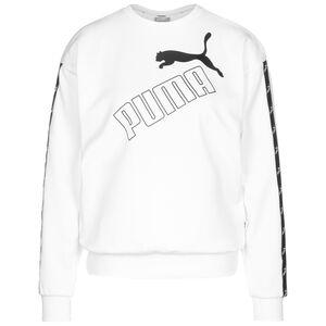 Amplified Crew Sweatshirt Damen, weiß / schwarz, zoom bei OUTFITTER Online