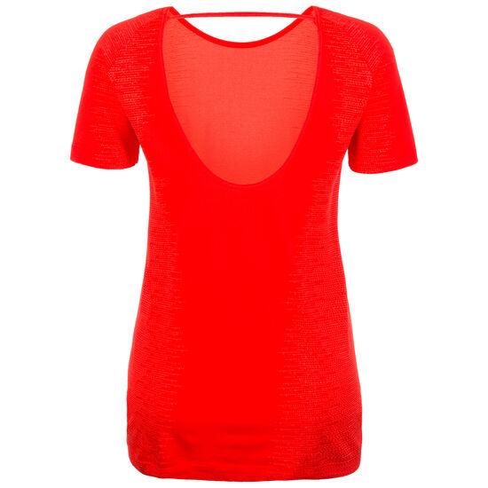 HeatGear Threadborne Vanish Trainingsshirt Damen, Rot, zoom bei OUTFITTER Online