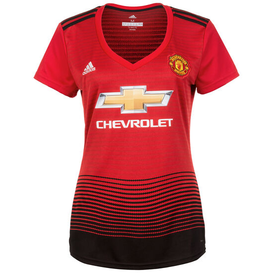 Manchester United Trikot Home 2018/2019 Damen, Rot, zoom bei OUTFITTER Online