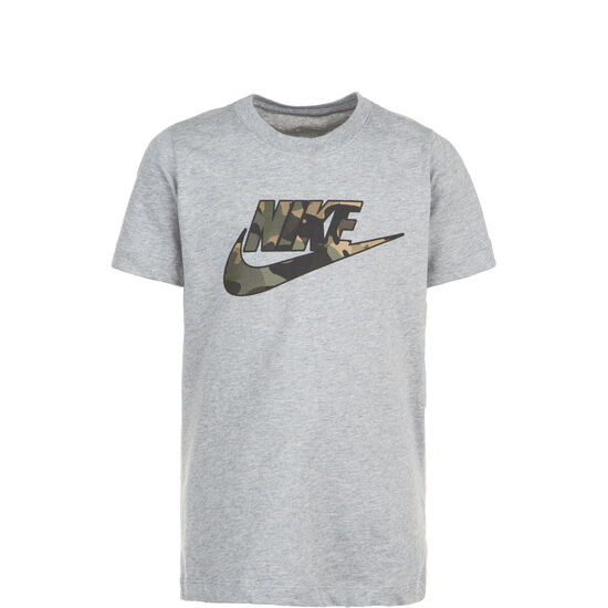 Futura Fill T-Shirt Kinder, grau, zoom bei OUTFITTER Online