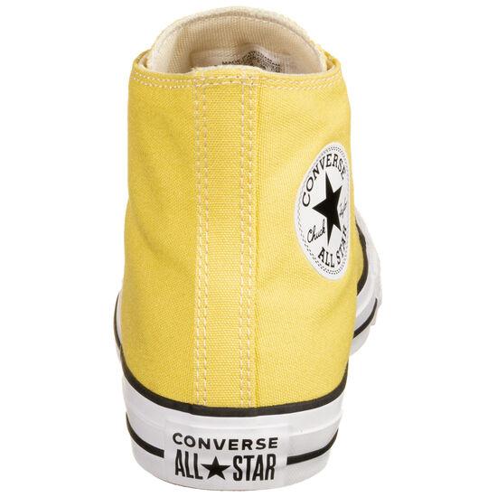 Chuck Taylor All Star High Sneaker, gelb / weiß, zoom bei OUTFITTER Online