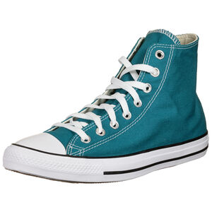 Chuck Taylor All Star Seasonal High Sneaker, petrol / weiß, zoom bei OUTFITTER Online