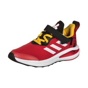 FortaRun Mickey Sneaker Kinder, rot / schwarz, zoom bei OUTFITTER Online