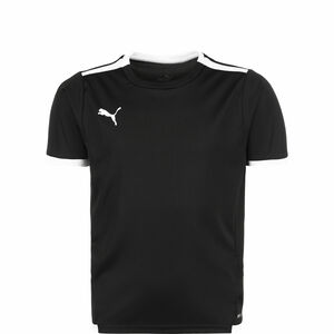 TeamLIGA Fußballtrikot Kinder, schwarz / weiß, zoom bei OUTFITTER Online