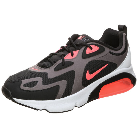 Air Max 200 Sneaker Herren, grau / schwarz, zoom bei OUTFITTER Online