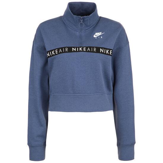 Air Half-Zip Sweatshirt Damen, blau / schwarz, zoom bei OUTFITTER Online