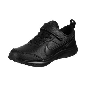 Varsity Leather Sneaker Kinder, schwarz, zoom bei OUTFITTER Online