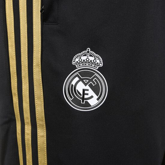 Real Madrid EA Trainingshose Herren, schwarz / gold, zoom bei OUTFITTER Online