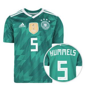 DFB Trikot Away Hummels WM 2018 Kinder, Grün, zoom bei OUTFITTER Online