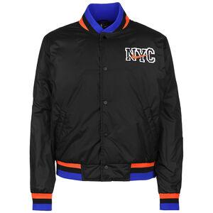 NBA New York Knicks Courtside Jacke Herren, schwarz, zoom bei OUTFITTER Online