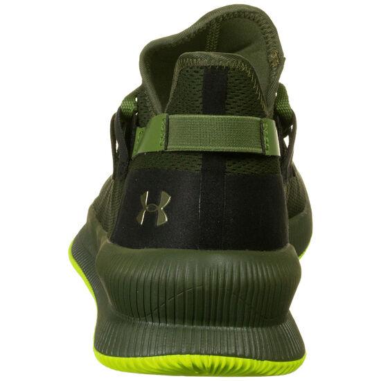 M-TAG Low Basketballschuh Herren, schwarz / neongrün, zoom bei OUTFITTER Online