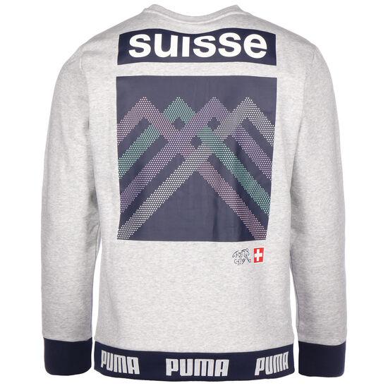 SFV Schweiz FtblCulture Sweatshirt EM 2020 Herren, hellgrau / schwarz, zoom bei OUTFITTER Online