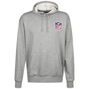 NFL Detail Logo Kapuzenpullover Herren, grau, zoom bei OUTFITTER Online