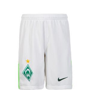 SV Werder Bremen Short Away Stadium 2017/2018 Kinder, Weiß, zoom bei OUTFITTER Online