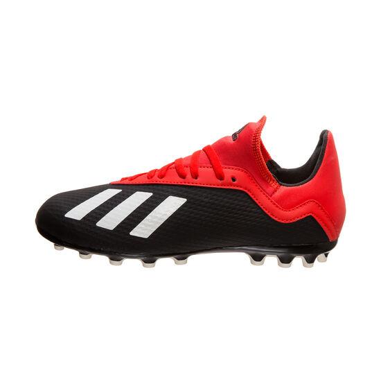 X 18.3 AG Fußballschuh Kinder, schwarz / rot, zoom bei OUTFITTER Online