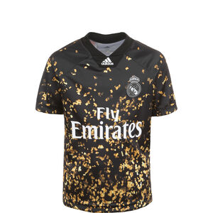 Real Madrid EA Trikot Kinder, schwarz / weiß, zoom bei OUTFITTER Online