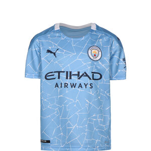 Manchester City Trikot Home 2020/2021 Kinder, hellblau / weiß, zoom bei OUTFITTER Online