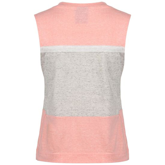Varsity Tanktop Damen, rosa / grau, zoom bei OUTFITTER Online