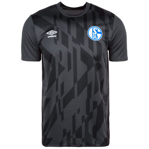 FC Schalke 04 Warm Up Trainingsshirt Herren, anthrazit / schwarz, zoom bei OUTFITTER Online