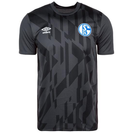 FC Schalke 04 Warm Up Trainingsshirt Herren, anthrazit / schwarz, zoom bei OUTFITTER Online