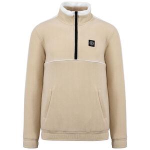 DMWU Patch Fleece Sweatshirt Herren, beige / weiß, zoom bei OUTFITTER Online