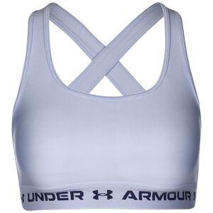 Armour Crossback Mid Sport-BH Damen, hellblau / blau, zoom bei OUTFITTER Online