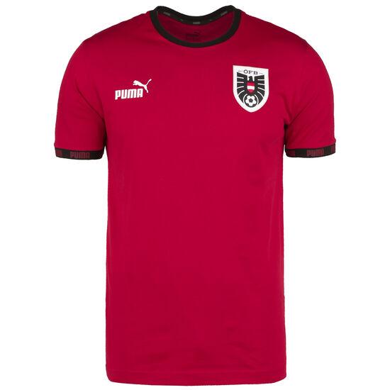 ÖFB Österreich FtblCulture T-Shirt EM 2021 Herren, rot / weiß, zoom bei OUTFITTER Online
