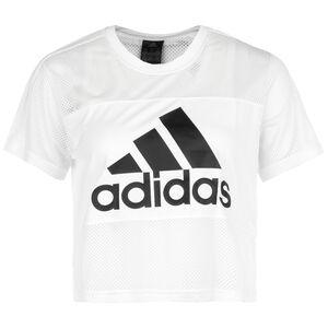 Badge Of Sport Trainingsshirt Damen, weiß, zoom bei OUTFITTER Online