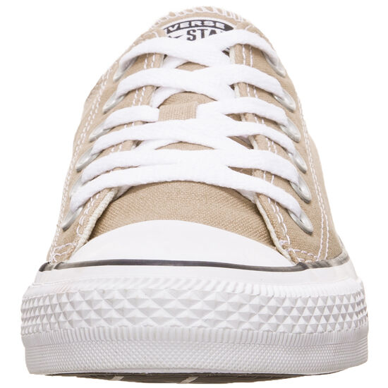 Chuck Taylor All Star Low Top Sneaker, beige / weiß, zoom bei OUTFITTER Online