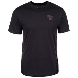 Sunrise Skateboard T-Shirt Herren, schwarz / korall, zoom bei OUTFITTER Online