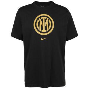 Inter Mailand Evergreen Crest T-Shirt Herren, schwarz, zoom bei OUTFITTER Online