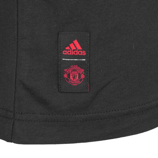 Manchester United Street Graphic T-Shirt Herren, schwarz / rot, zoom bei OUTFITTER Online