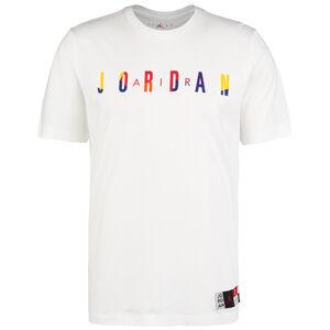 Jordan Jumpman DNA Crew T-Shirt Herren, weiß / bunt, zoom bei OUTFITTER Online