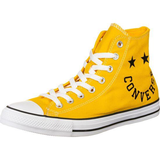 Chuck Taylor All Star Smile High Sneaker Herren, gelb / schwarz, zoom bei OUTFITTER Online