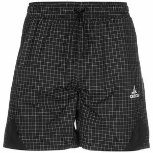 Primeblue Shorts Herren, schwarz / weiß, zoom bei OUTFITTER Online