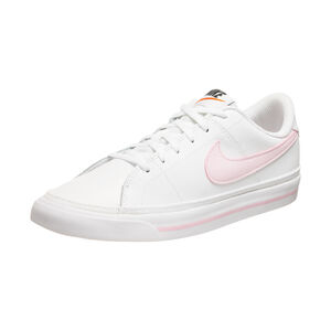 Court Legacy Sneaker Kinder, weiß / rosa, zoom bei OUTFITTER Online