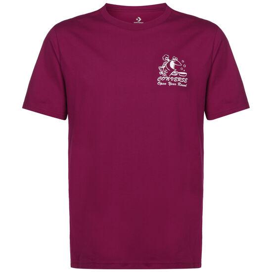 Fish Fry Shop T-Shirt Herren, weinrot, zoom bei OUTFITTER Online