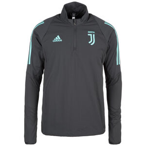 Juventus Turin Trainingspullover Herren, dunkelgrau / türkis, zoom bei OUTFITTER Online