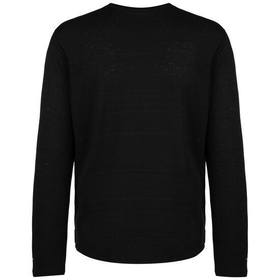 Dry Miler Laufshirt Herren, schwarz / silber, zoom bei OUTFITTER Online