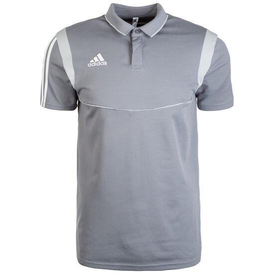 Tiro 19 Poloshirt Herren, grau / weiß, zoom bei OUTFITTER Online