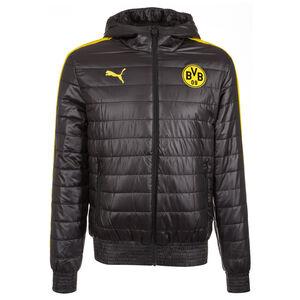 Borussia Dortmund Padded Kapuzenjacke Herren, Schwarz, zoom bei OUTFITTER Online